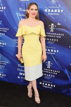 Anna Chlumsky attends the 2017 Fragrance Foundation Awards Presented By Hearst Magazines at Alice Tully Hall on June 14, 2017 in New York City.