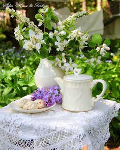 Aiken House & Gardens: Tea Under the Apple Blossoms