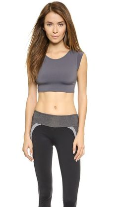 SOLOW Muscle Crop Top