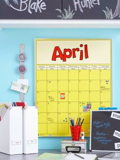 despite all electronic calendars, it might still be nice to have an on-the-wall one for those home chores too bothersome to check via PC or smartphone