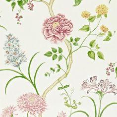 Bildresultat för blommor blad tapet