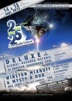 2+2=5, l'Incroyable Festival les 1er, 14 et 15 septembre 2012 à Montpellier