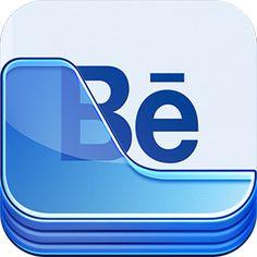 Behance Portfolio App Icon by Ramotion , via Behance
