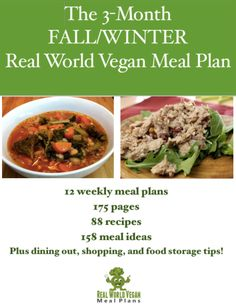 Don't miss a coupon code for this 175 page, 3 month (12 weeks!) meal plan with 88 recipes, 158 meal ideas + lots of tips to make vegan easy! Sign up for the newsletter today!