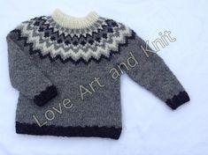 Ready to ship Icelandic sweater children jumper kids