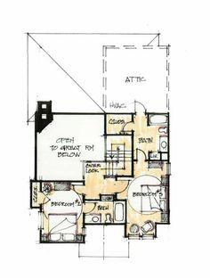 Winchester Upper Floor - Natural Element Homes