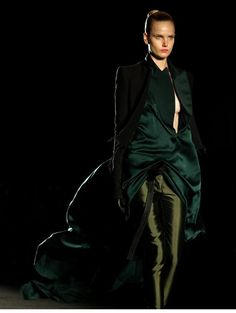 """""""Haider Ackermann traveled to Medellin, Colombia where he kicked off Colombiamoda, the country's annual fashion week. For the designer, who is based in Paris, it was a homecoming of sorts; Ackermann,..."""