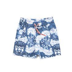 Munster Dead Flower Shorts Navy