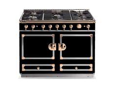 La Cornuefe 110 Matte Black With Copper Trim Cornue Fine French Cookers M