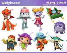 45 Wallykazam Clipart PNG Wallykazam Digital Graphic by hqClipart