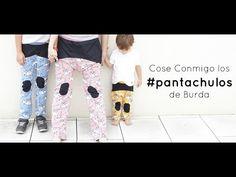 Cose Conmigo los pantalones de Burda talla infantil y adulto #pantachulos - YouTube