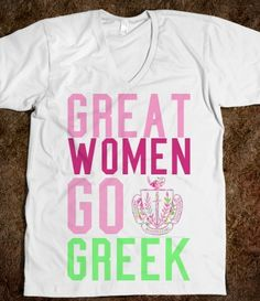 Panhellenic - Go Greek National Panhellenic Conference (NPC) Sorority Recruitment Shirts