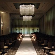 Wedding in the Devonshire Ballroom, at The Langham, Chicago