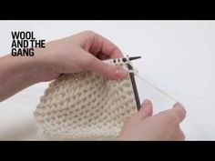 How to Knit Hexagon Stitch - wool and the gang