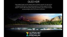 New LG OLED55E6P Flat 55-Inch 4K Ultra HD Smart OLED TV (2016 Model) Ove...