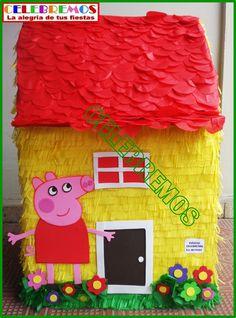 Caja para regalo de Peppa pig