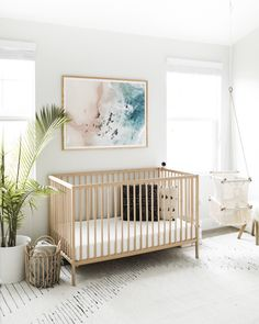 Baby Blue Nursery, Coastal Nursery, Baby Boy Nursery Themes, Nursery Neutral, Baby Boy Nurseries, Nursery Room, Girl Nursery, Girl Room, Boho Nursery
