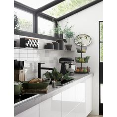 Shop Crate and Barrel to find everything you need to outfit your home. Browse furniture, home decor, cookware, dinnerware, wedding registry and more. Dirty Kitchen Design, Outdoor Kitchen Design, Interior Design Kitchen, Kitchen Decor, Nice Kitchen, Dirty Kitchen Ideas, Interior Livingroom, Kitchen Layout, Küchen Design