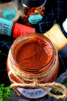 Sugar Free Hot and Smoky Barbeque Sauce - Lord Byron's Kitchen Homemade Barbeque Sauce, Barbecue Sauce, Grilled Sausage, Grilled Meat, Food Shows, Diabetic Recipes, Grilling Recipes, Sauce Recipes, Sugar Free