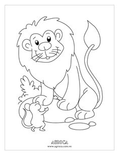 el ratón Colouring Pages
