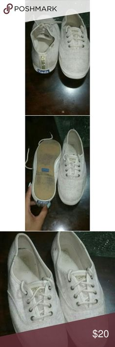 Keds whiteshoes Worn with love. No flaws Keds Shoes Flats & Loafers