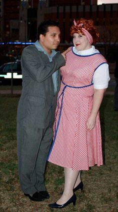 I love Lucy couple costume