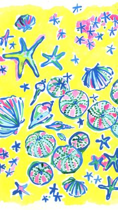 Lilly Pulitzer Print : Shell Me About It
