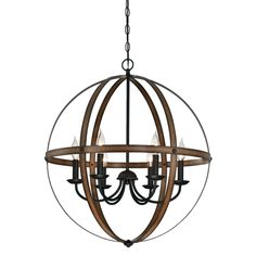 Charming vintage-industrial style, the Westinghouse Chandelier adds a dramatic accent to any decor. The open sphere chandelier is adorned in a rich oil rubbed bronze finish with hand rubbed highlights. This chandelier commands attention with Farmhouse Chandelier, Outdoor Chandelier, Bronze Chandelier, Globe Chandelier, Farmhouse Lighting, Chandelier Lighting, Rustic Farmhouse, Kitchen Lighting, Farmhouse Style