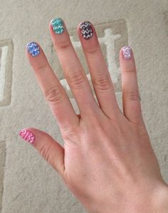 Stina-Lotan pääsiäiskynnet #easter #manicure #livbox #style