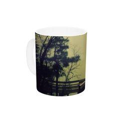 "Robin Dickinson ""Fog on the River"" Ceramic Coffee Mug"