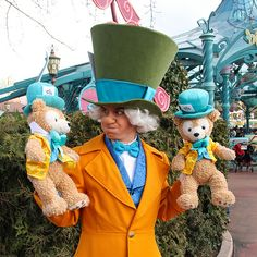 Which Mad Hatter is the cutest? The votes are open! #disneylandparis #madhatter