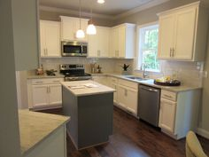 L and L of Raleigh built this kitchen at Turner Farms . 5437 Fantasy Moth Dr. Garner