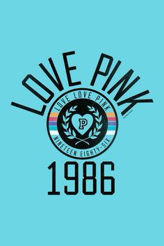 Love PINK 1986 Wallpaper