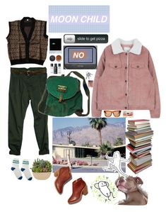 """""""My dog is my only friend"""" by carmellascreations ❤ liked on Polyvore featuring Tusnelda Bloch, Bare Escentuals and Balenciaga"""