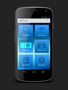 Mobile App UI by Andrew Forrester, via Behance