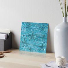 Beach Gifts, Wall Decor, Wall Art, Ocean Art, Home Decor Accessories, Top Artists, Starfish, Watercolor Paper, Art Boards