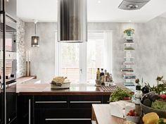 Revestir las paredes con piedra.   Decorar tu casa es facilisimo.com