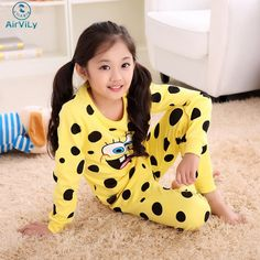 Kids Cotton Underwear Suit Sponge Bob Girl Sleepwear Trousers Cartoon Suit Children Spring Autumn Clothes Robe Boys Pajama Sets #>=#>=#>=#>=#> Click on the pin to check out discount price, color, size, shipping, etc. Save and like it!