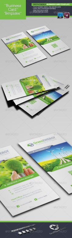 Green Energy Business Card Template  #GraphicRiver        Green Energy Business Card Template  Fully layered INDD   Fully layered PSD   300 Dpi, CMYK   IDML format open Indesign CS4 or later  Completely editable, print ready  Text/Font or Color can be altered as needed  All Image are in vector format, so can customise easily  Photos are not included in the file  Font File: Lato Font:  .fontsquirrel /fonts/lato Bree-serif:  .fontsquirrel /fonts/bree-serif   Help.txt file     Created: 13June13…