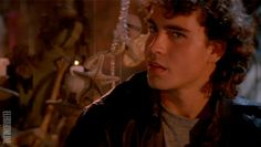 Never really reflected before about how perfect the casting of Jason Patric is in Lost Boys as our fish out of water protagonist thrown into an extraordinary sexy world that he's cool enough to join and fully belongs in, but the price of it is too high because he would lose himself and everyone he loves to it.