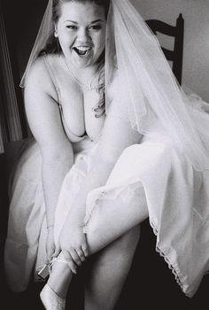 Chubby sexy free bride