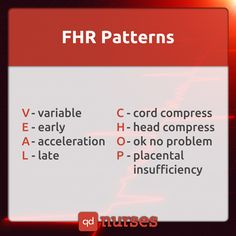 Have you had VEAL CHOP for FHR patterns today? --- Visit…