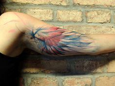 Phoenix by Jan Mraz- I love this and I love the placement. I would love to get something similar