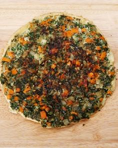 Kale, Sweet Potato, and Onion Frittata Recipe Tasty Videos, Food Videos, Vegetarian Recipes, Cooking Recipes, Healthy Recipes, Frittata Recipes, Kale Frittata, Quiche, Healthy Snacks