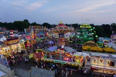 Blick auf die Cranger Kirmes vom Riesenrad http://www.ausflugsziele-nrw.net/cranger-kirmes/ #CrangerKirmes #Crange #Herne #Ruhrgebiet #Kirmes #Jahrmarkt