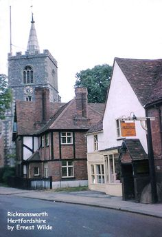 St Mary's Church, Rickmansworth, Hertfordshire, England, built in the 1200s