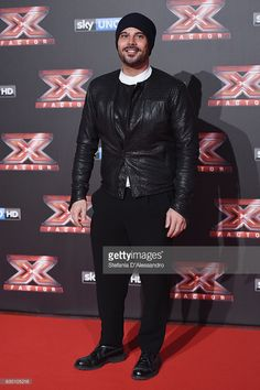 Marco D'Amore attends 'X Factor X' Tv Show Red Carpet on December 15, 2016 in Milan, Italy.