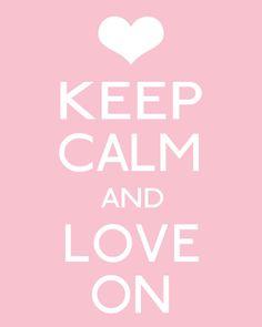 Love on. #LaurensHope #KeepCalm #Keep_Calm