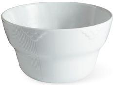 Hvid Elements skål, 160 cl.