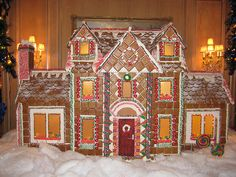 Giant Gingerbread House @ the Ritz | Flickr - Photo Sharing!